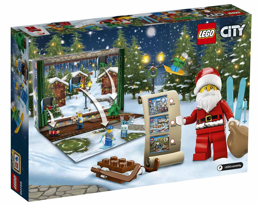Lego City Julekalender 2018 Tilbud Røget Laks I Skiver Tilbud