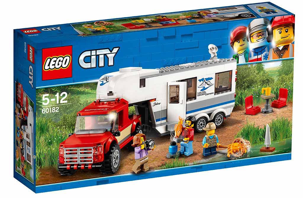 Lego City 60182 Pickup Og Campingvogn Køb Lego City Her