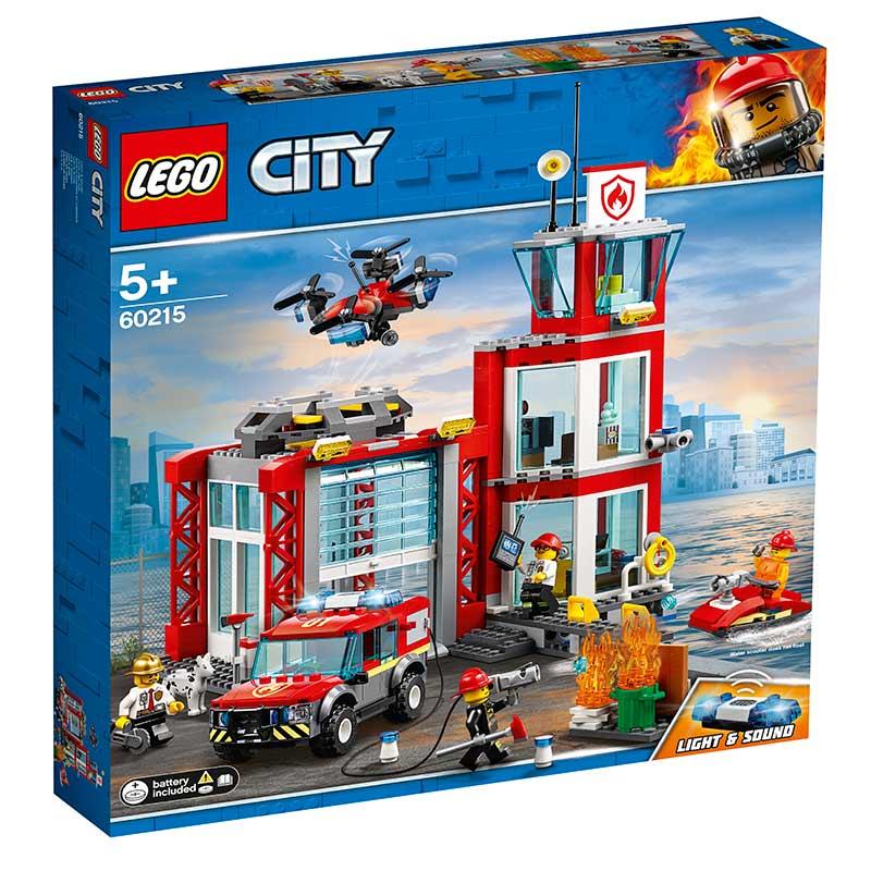 Lego City 60215 Brandstation Køb Lego City Her