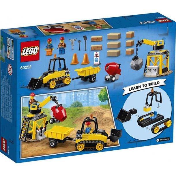 Lego City 60252 - Byggeplads med bulldozer