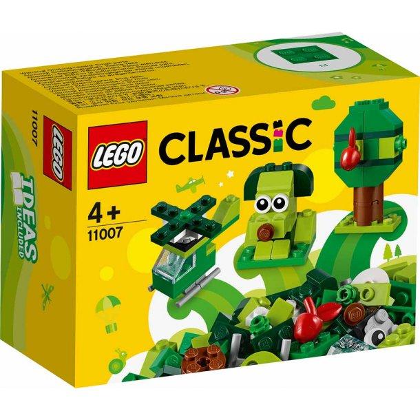 LEGO Classic 11007 - Kreative grønne klodser