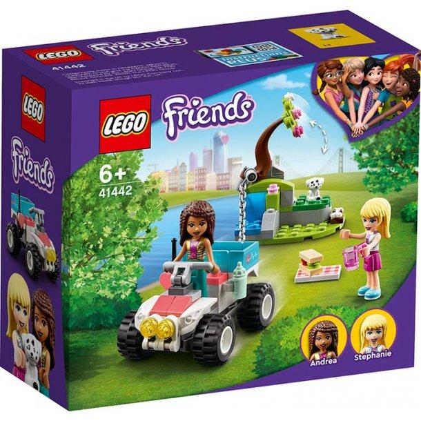 LEGO Friends 41442 - Dyrlægeklinikkens redningsbuggy
