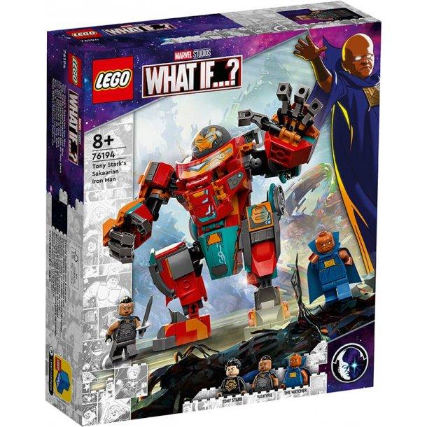 LEGO Avengers 76194 - Tony Starks sakaarianske Iron Man