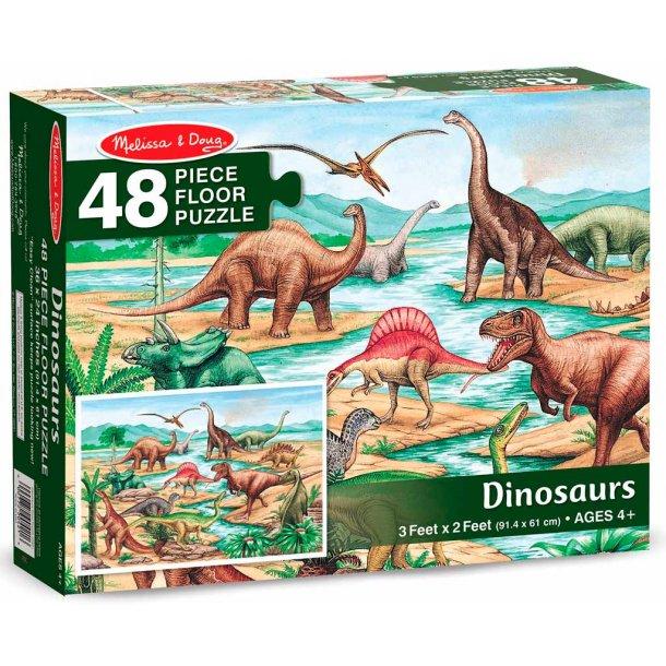 Dinosaur gulvpuslespil