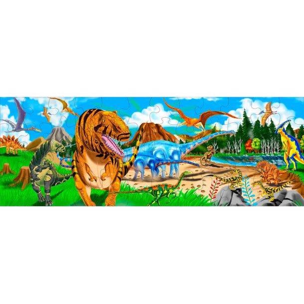 Dino land gulvpuslespil