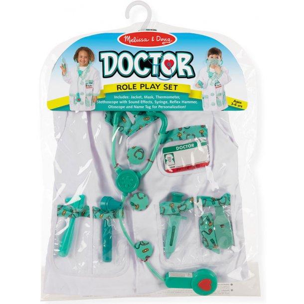 Læge kostume komplet
