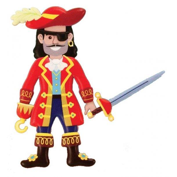 Pirat 3D sticker set