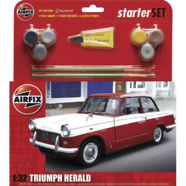 Airfix Triumph Herald 1:32 komplet sæt