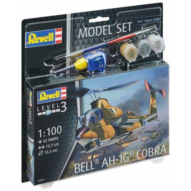 Bell AH-16 Cobra helikopter 1:100 kompletsæt