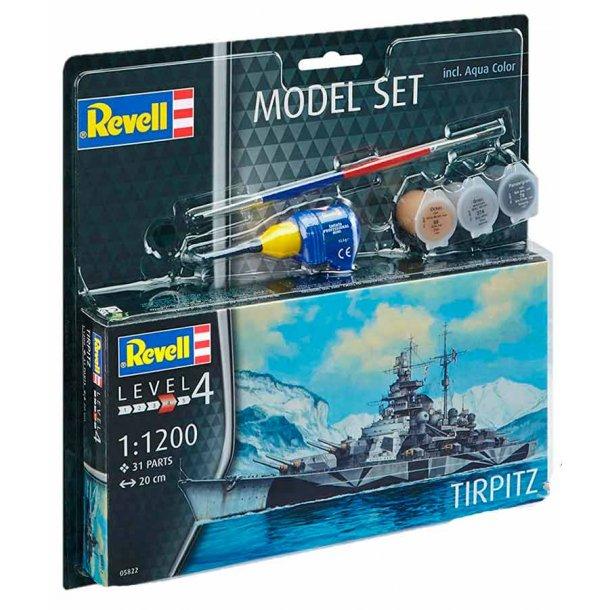Revell krigsskibet Tripitz - scala 1:1200 kompletsæt