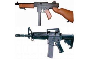 Manuelle Rifler / softguns