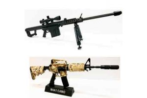 Mini replica våben