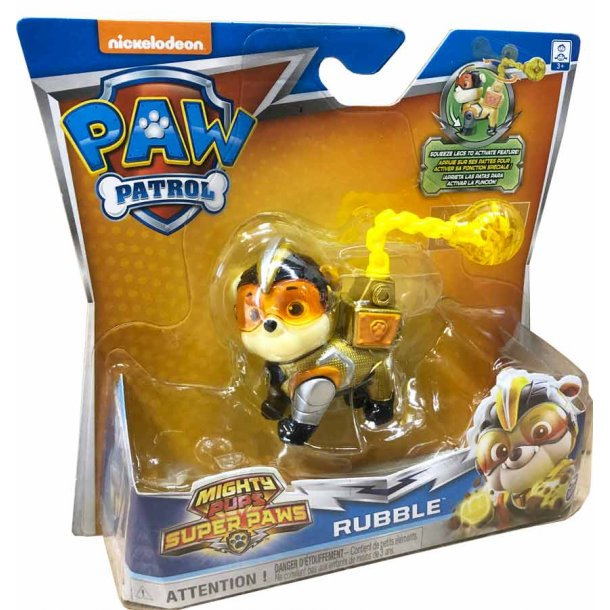 Mighty pups Rubble figur