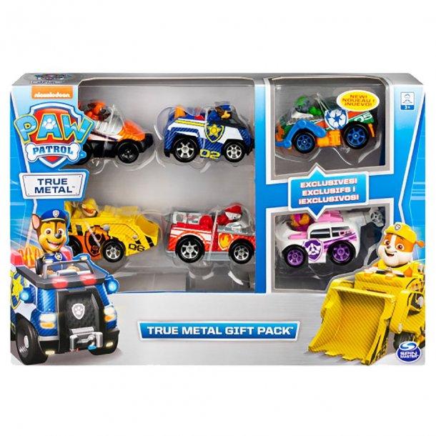 Paw Patrol metalbiler