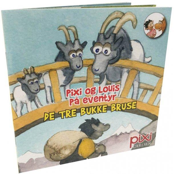 Pixi og louis på eventyr - de tre bukke bruse