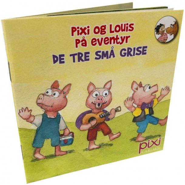 Pixi og louis på eventyr - de tre små grise