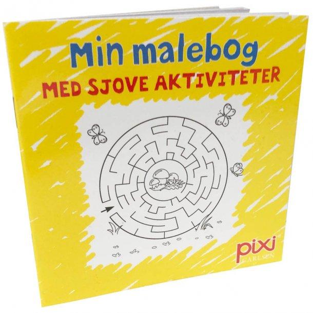 Pixi malebog med aktiviteter