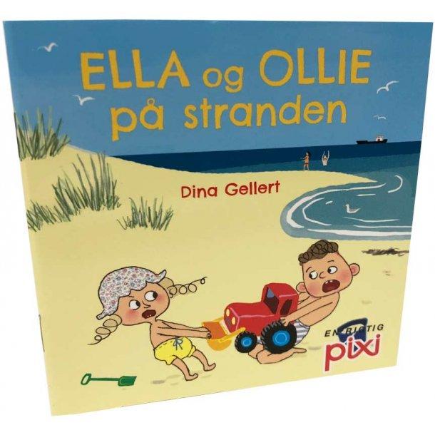 Ella og Ollie på stranden
