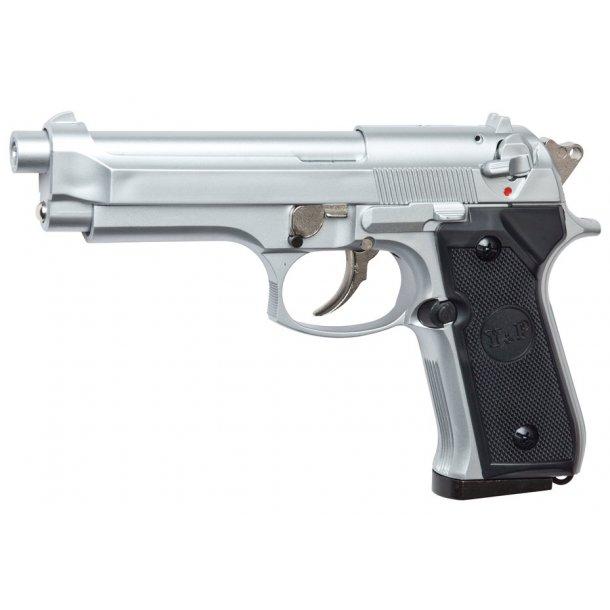 Beretta M92 chrome - Gas pistol