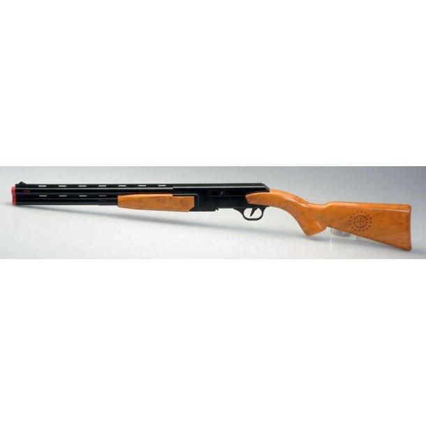 Jagtgevær fra Gunman med patroner.