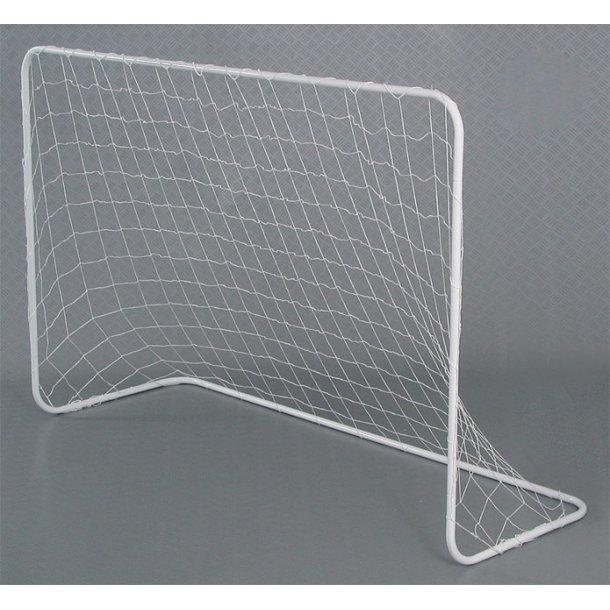 Fodbold mål stort i metal 183 x 122 cm.