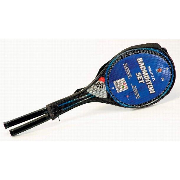 Luksus Badmintonsæt i hærdet stål.