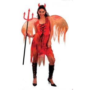 d938429f7c25 Halloween - Djævlepige voksen dragt one size