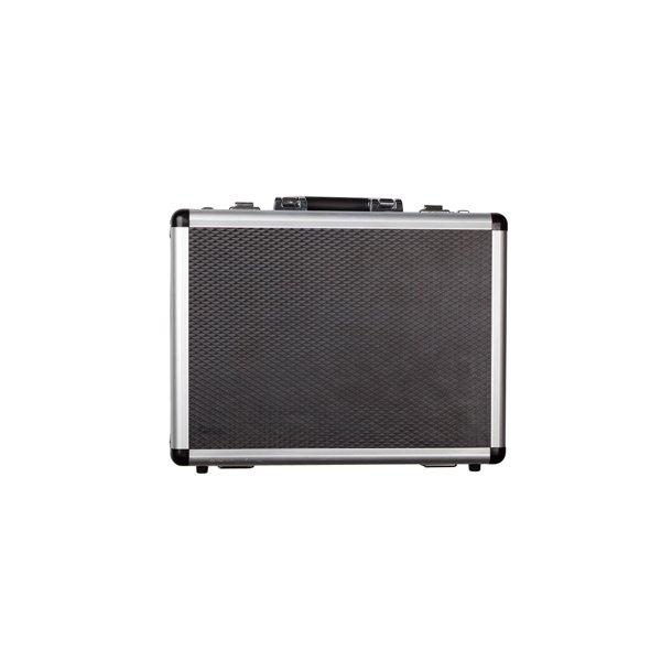 Kuffert i Aluminium - godt foret og med kode.