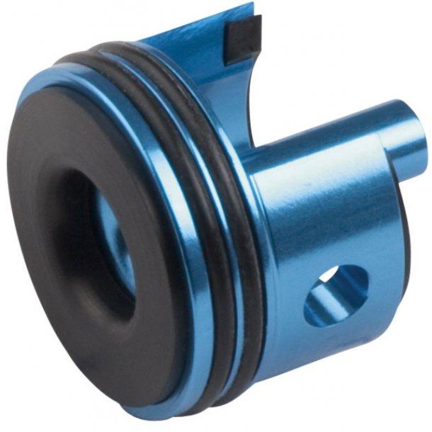 Ultimate cylinderhoved , alu, ver. 2, blue