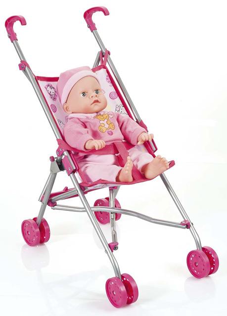 Karin dukke paraplyklapvogn - kør tur med dine dukker i klapvogn