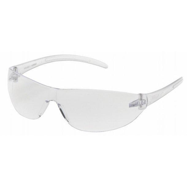 Brille - Skydebrille i klar farve.