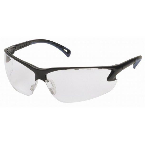 Brille - justerbar Skydebrille i klar farve.