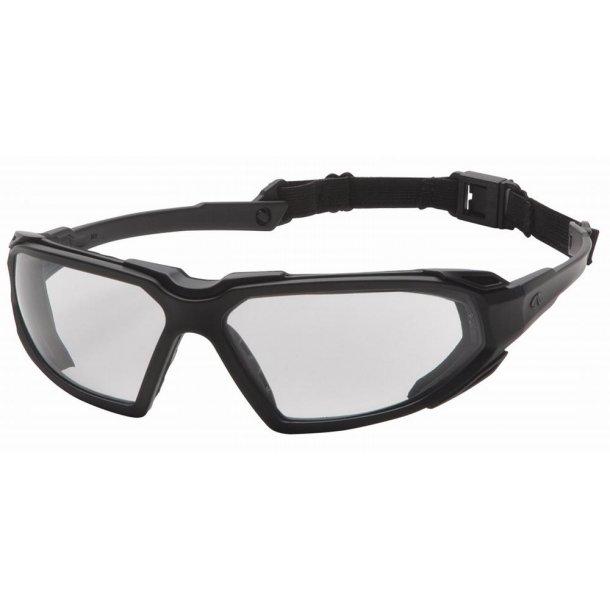 Brille - Taktisk skydebrille - klar.