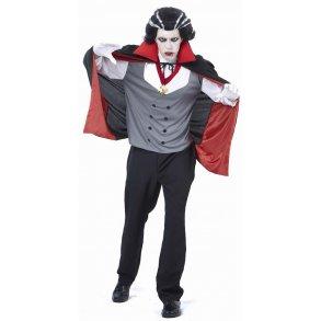 6a6e5ffc9a6b Halloween - Vampyr mand voksen dragt one size