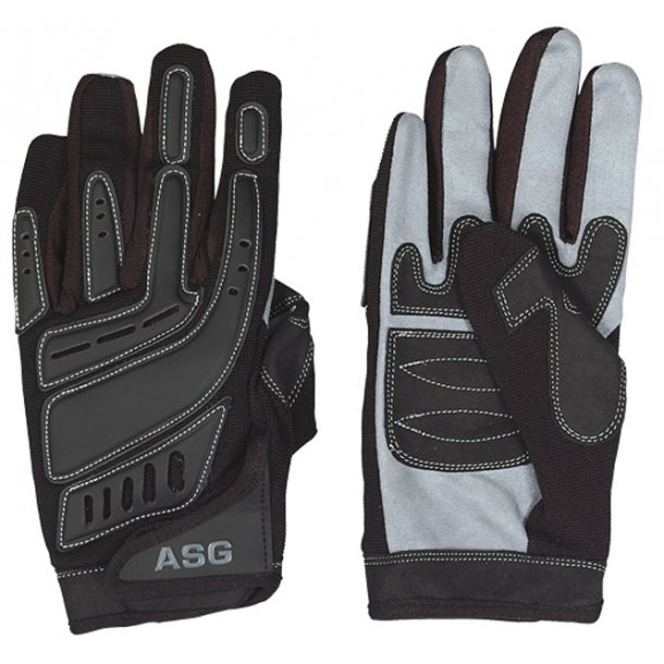 Strike systems - handsker sort / grå '' L''