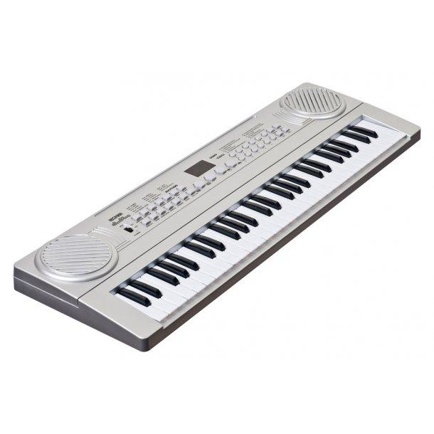 Keyboard med 54 tangenter m/ digitalt display.