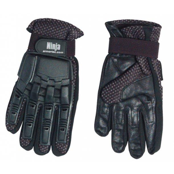 Skyde handsker 1 finger Ninja str. M
