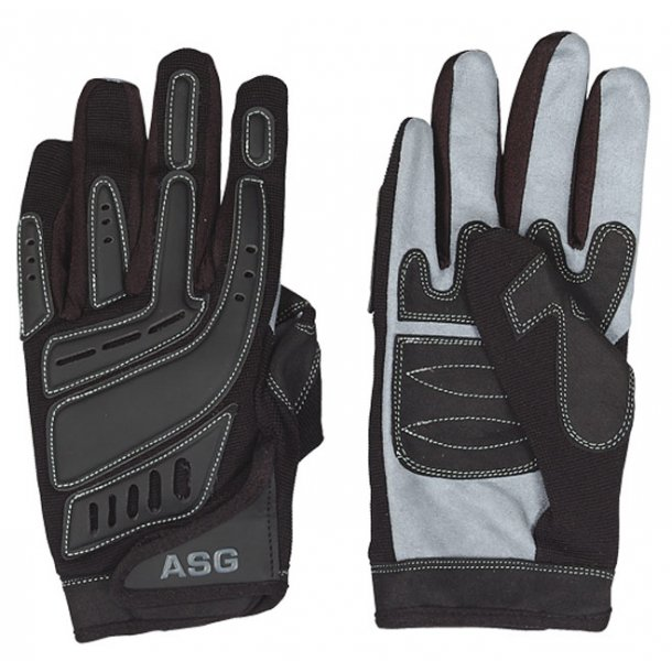 Skyde handsker sort / grå