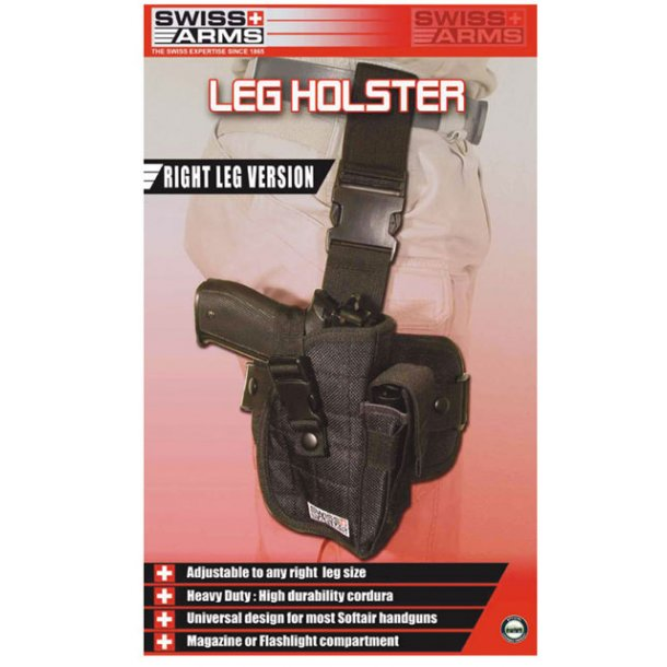 Swiss Arms Lårhylster - kraftig model.