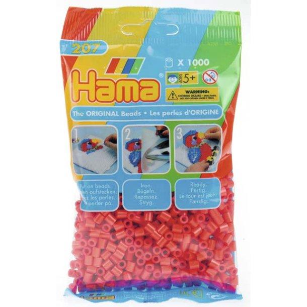 Hama midi perler 207-05 1000 stk. Røde