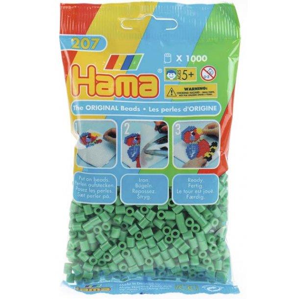 Hama midi perler 207-10 1000 stk. Grønne