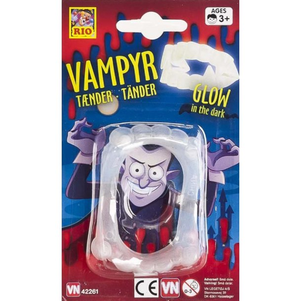 Vampyr tænder selvlysende.