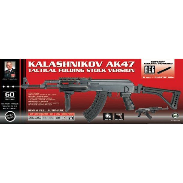 AK47 Kalashnikov Tactical folding stock.