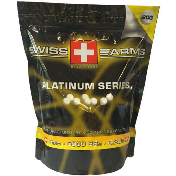 Swiss Arms 0,20G kugler 5000 stk. Platinium series