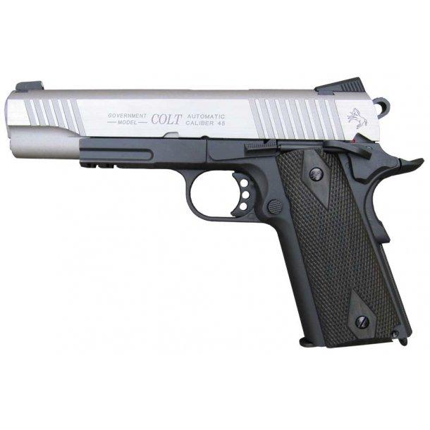 Colt M1911 - 2 tone - Fuld metal - blow back
