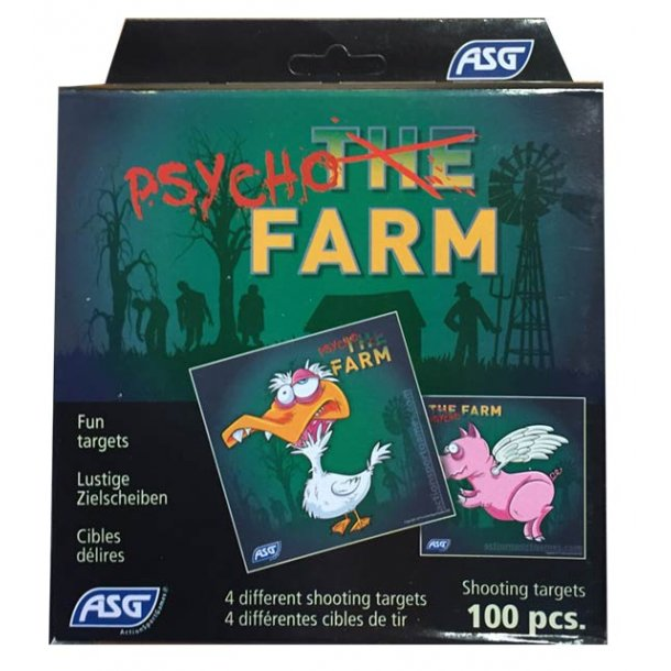 Psycho farm skydeskiver