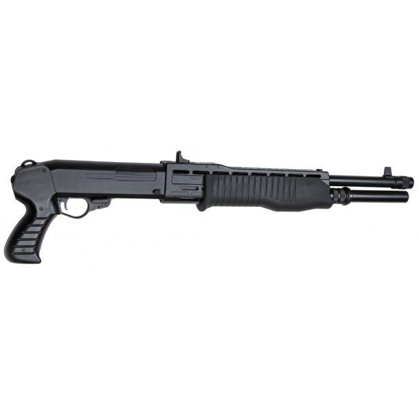 Pumpgun SPAS 12 3-skuds burst