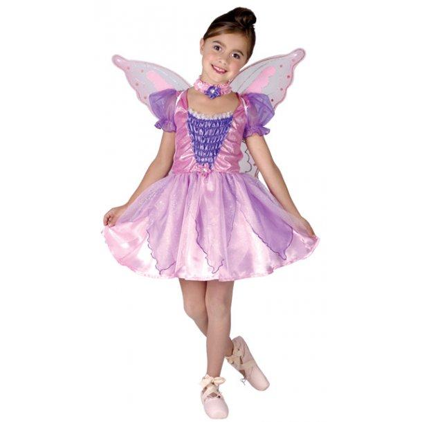 Ballet prinsesse med vinger - str. 140 cm.