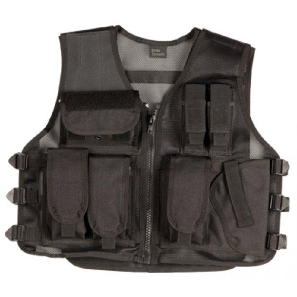 Recon vest m/pistolhylster - str. L
