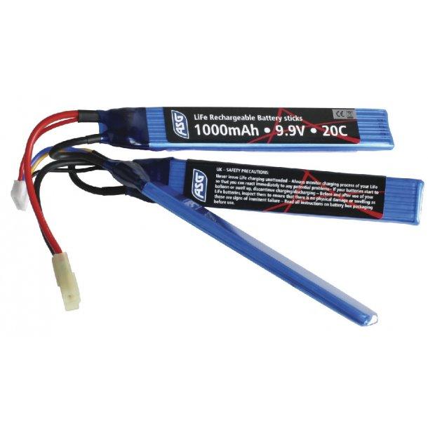 LiFe batteri 9,9v 1000 mAh